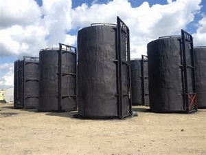 400 barrel oil storage tanks