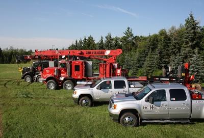 Dekker Oilfield Range of Trucks
