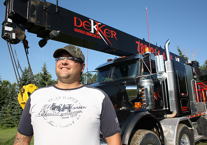 Rod Carroll at Dekker Oilfield Services