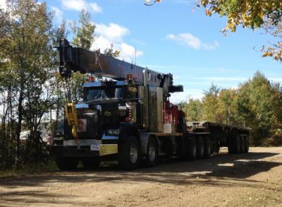 Dekker Oilfield Picker Truck